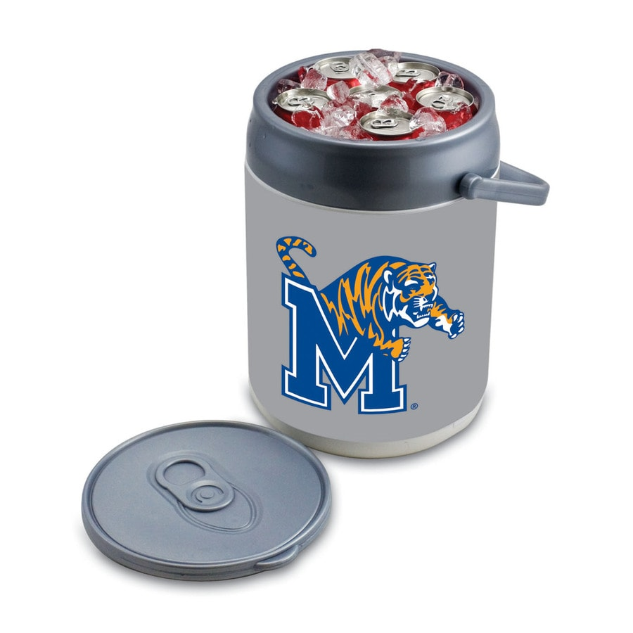 Picnic Time Memphis Tigers 9-qt Plastic Chest Cooler