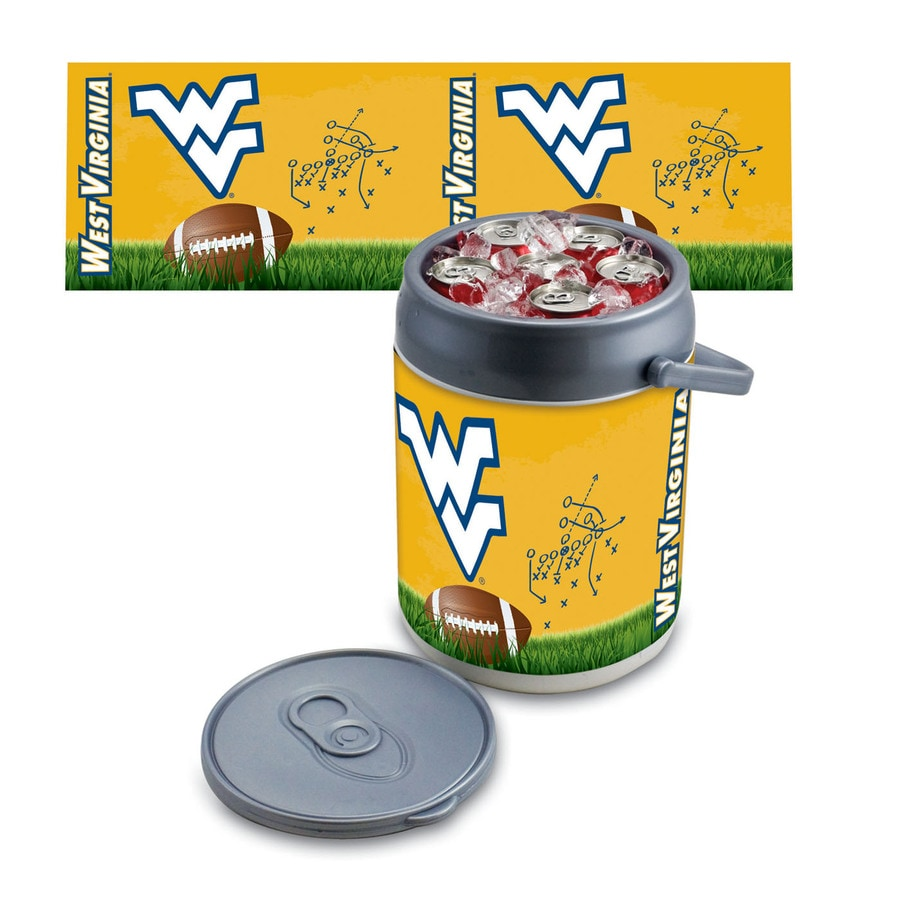 Picnic Time West Virginia Mountaineers 9-qt Plastic Chest Cooler