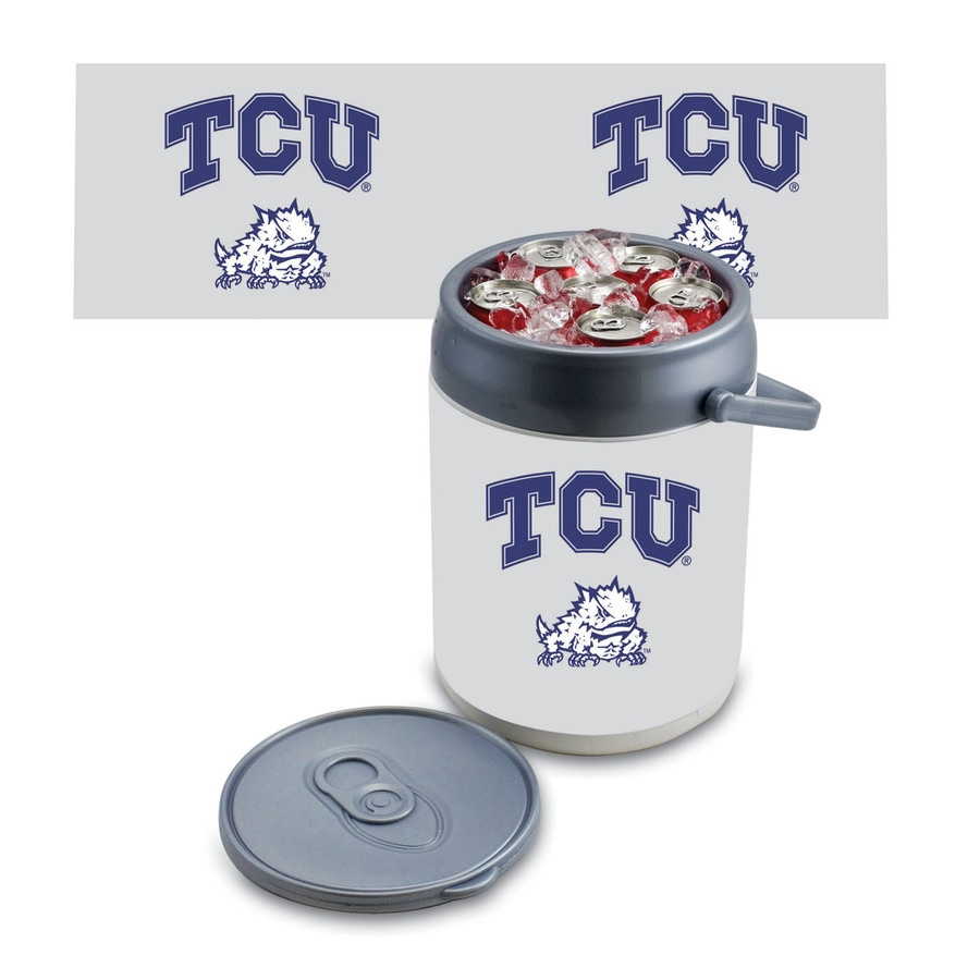 Picnic Time TCU Horned Frogs 9-qt Plastic Chest Cooler