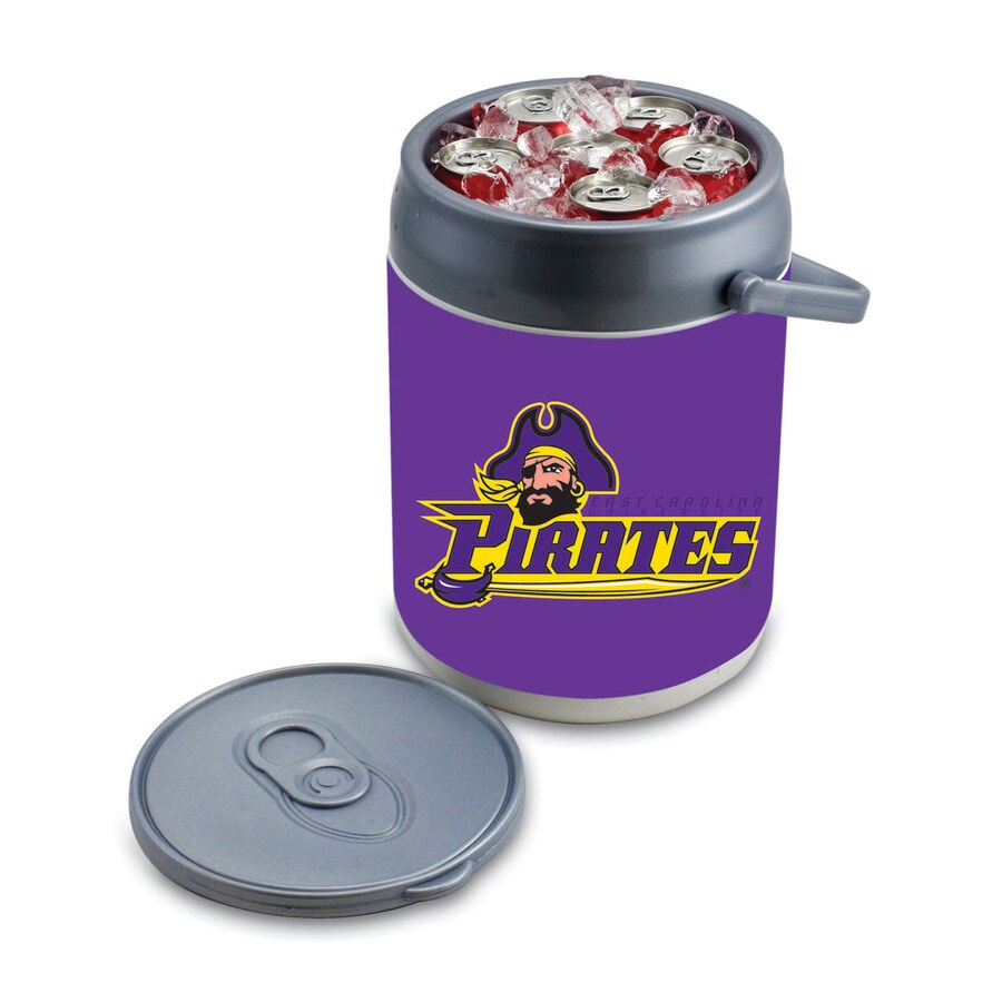 Picnic Time East Carolina Pirates 9-qt Plastic Chest Cooler