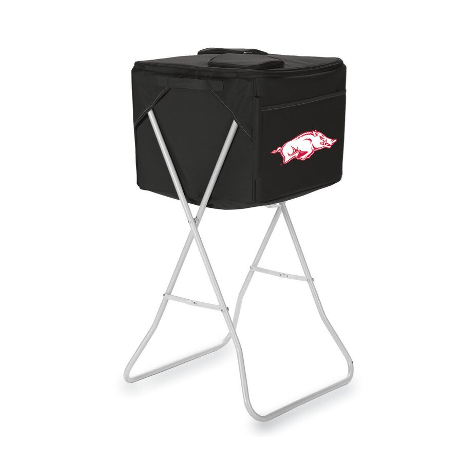 Picnic Time 2868-cu in Arkansas Razorbacks Polyester Chest Cooler