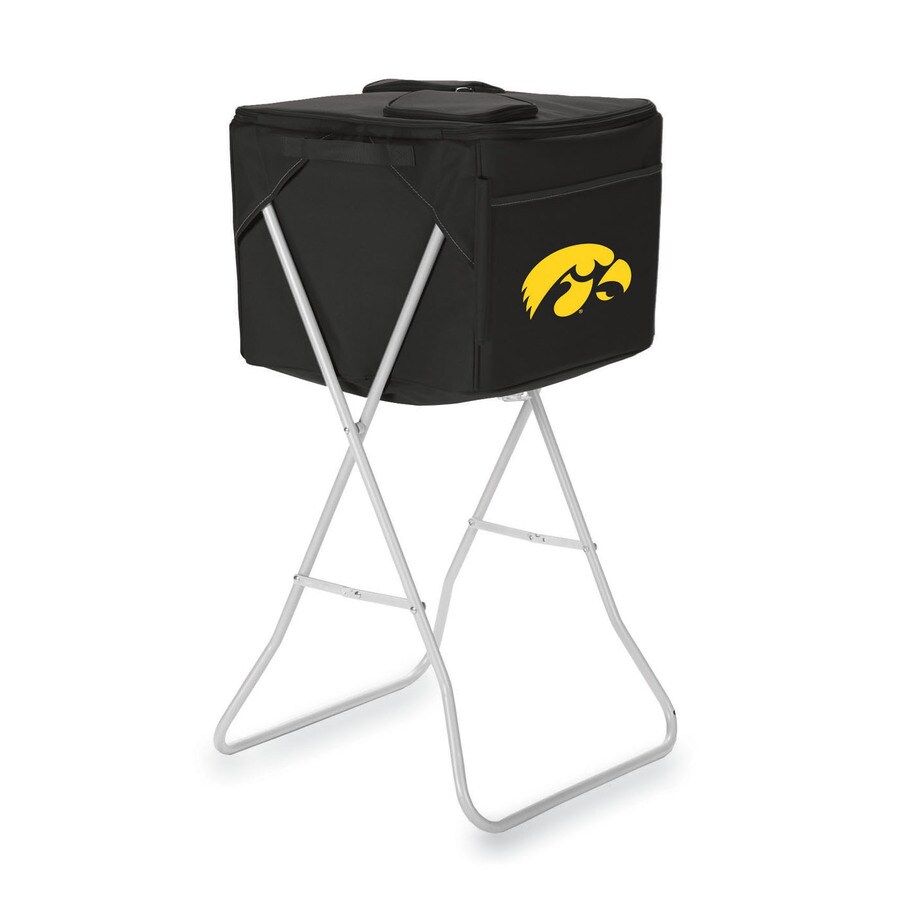 Picnic Time 2868-cu in Iowa Hawkeyes Polyester Chest Cooler