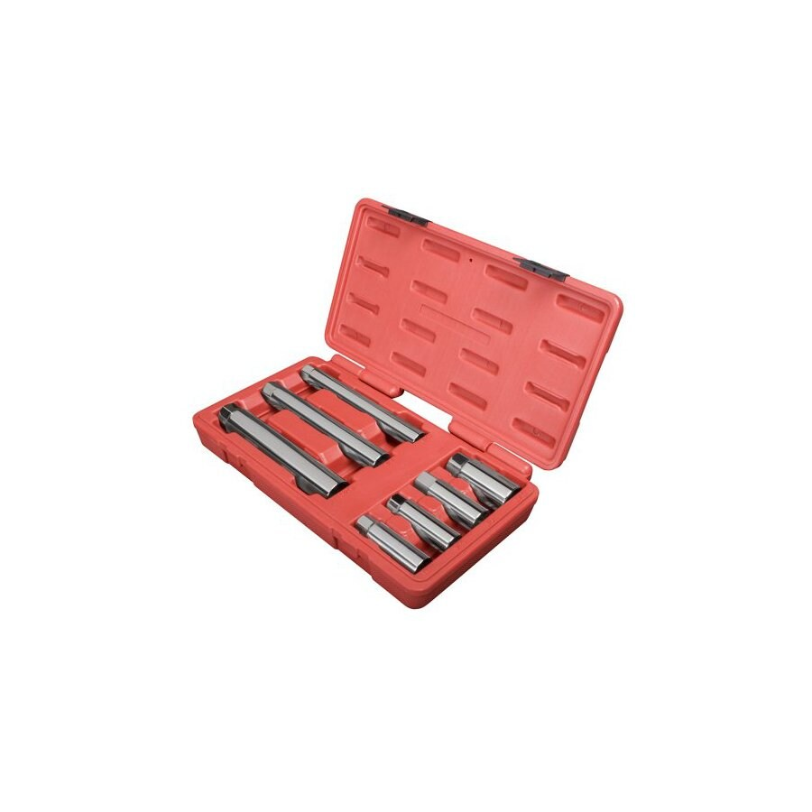 """Sunex Tools Total Number Of Pieces-Piece Standard (Sae) 3/8"""" Drive 4. Depth Socket Set with Case Case Included"""
