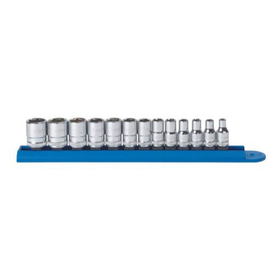 "KD Tools Total Number Of Pieces-Piece Metric 1/4"" Drive 4. Depth 6-Point Socket Set"