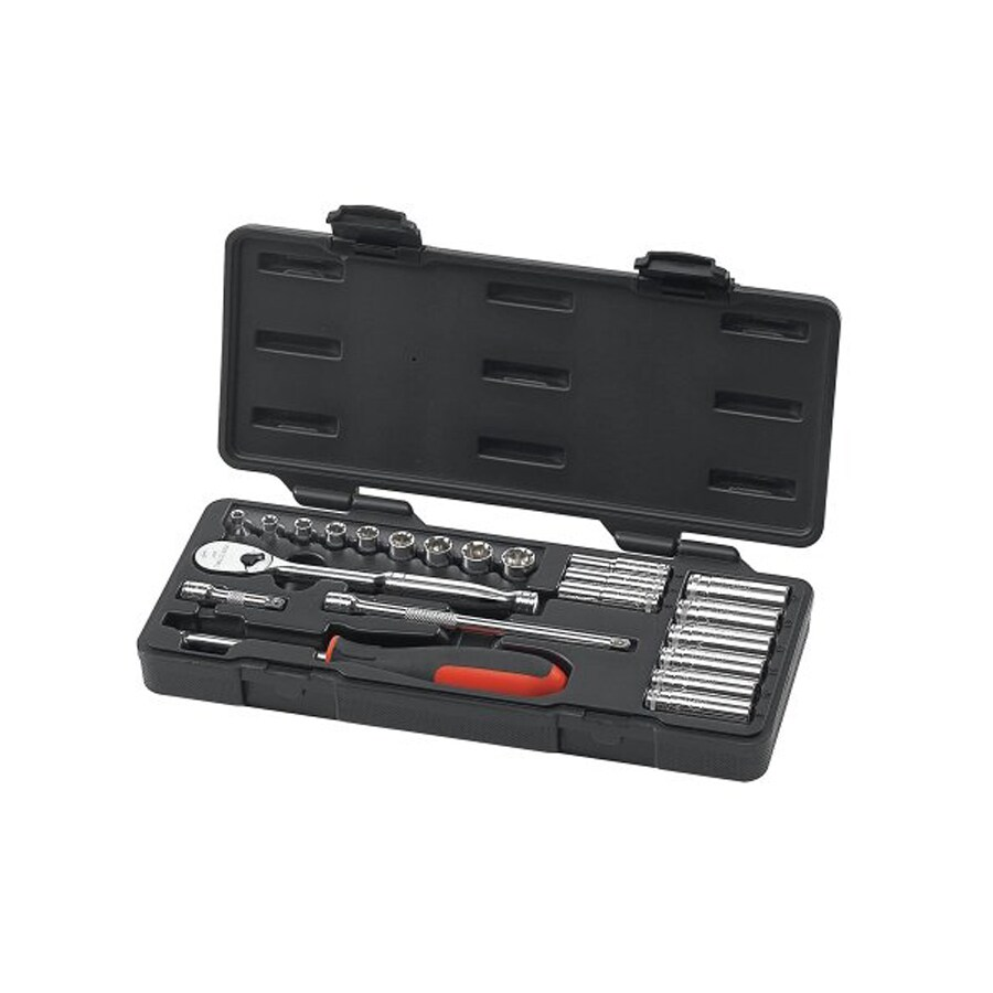 KD Tools 22-Piece Metric Mechanic's Tool Set with Hard Case