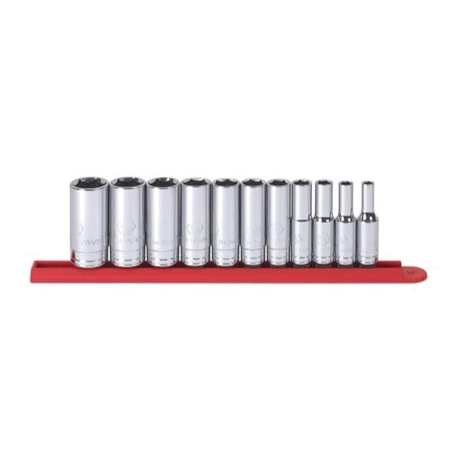"KD Tools Total Number Of Pieces-Piece Standard (Sae) 3/8"" Drive 4. Depth 6-Point Socket Set"