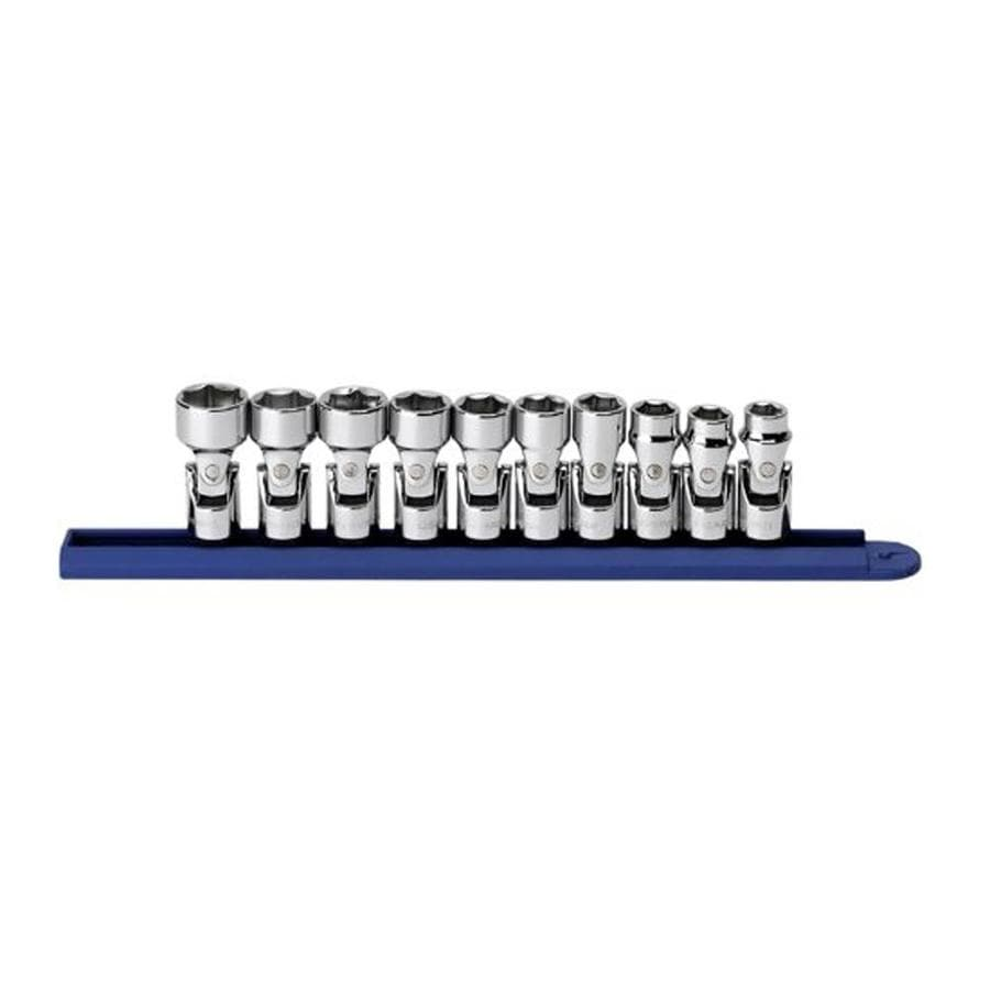 "KD Tools Total Number Of Pieces-Piece Metric 3/8"" Drive 4. Depth 6-Point Socket Set"