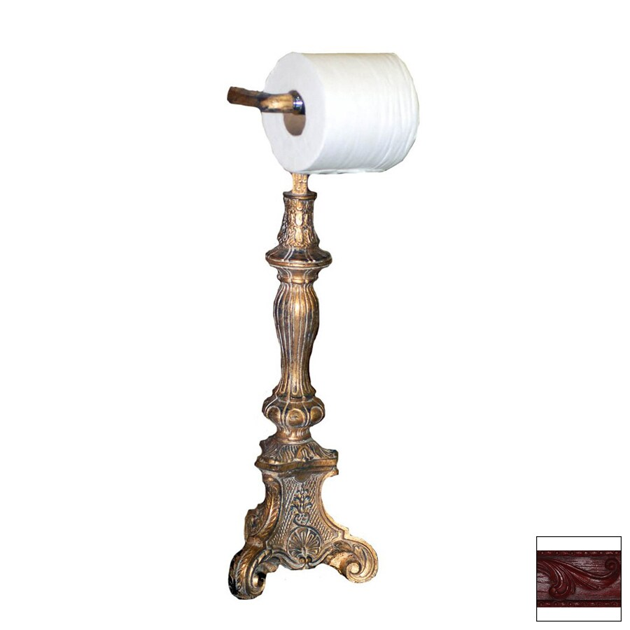 Hickory Manor House Cajun Red Freestanding Countertop Toilet Paper Holder