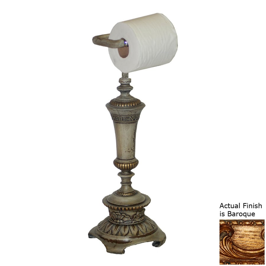 Countertop Toilet Paper Holder : ... House Baroque Freestanding Countertop Toilet Paper Holder at Lowes.com