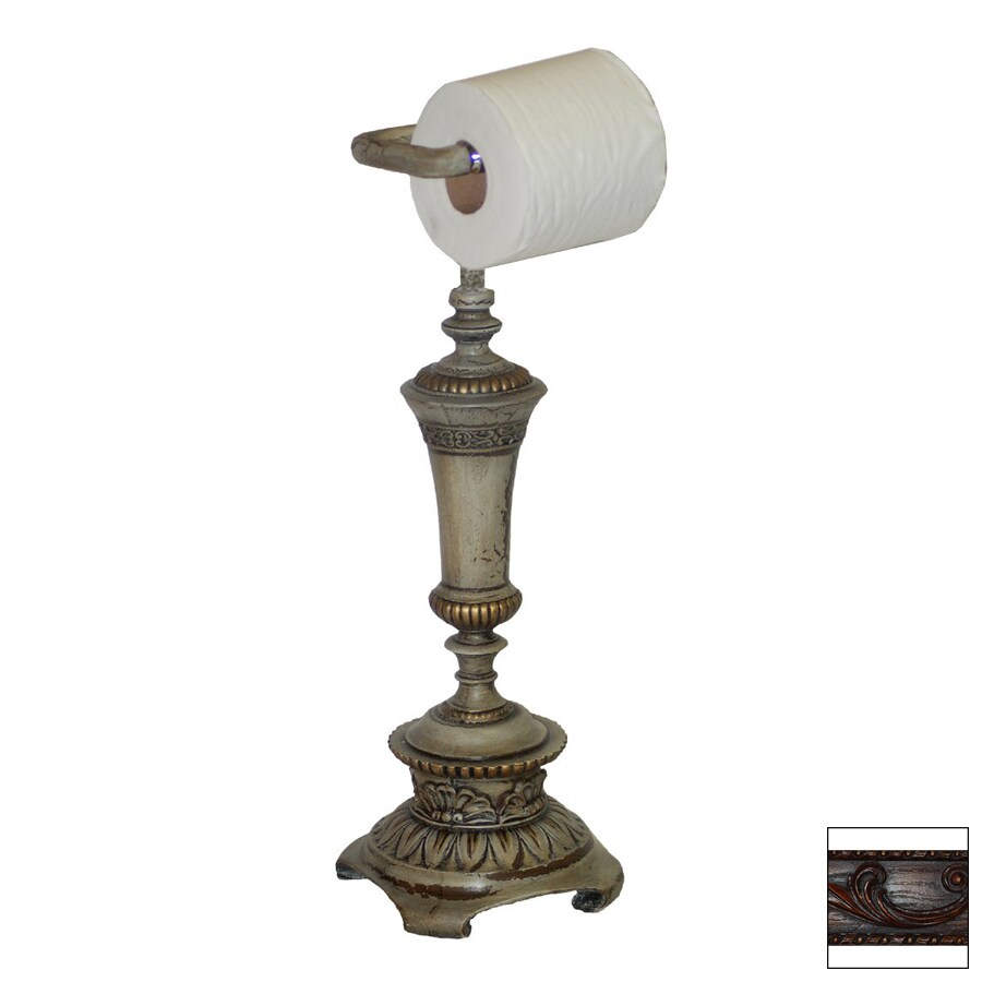 Hickory Manor House Brandywine Freestanding Countertop Toilet Paper Holder