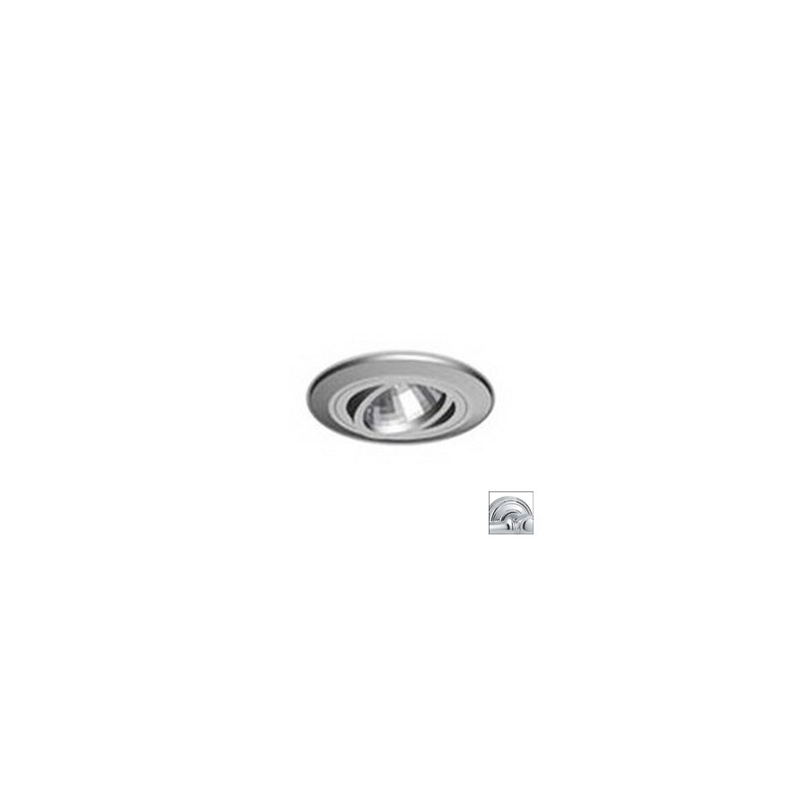 Prima Lighting 3-in Polished Chrome Gimbal Recessed Lighting Trim