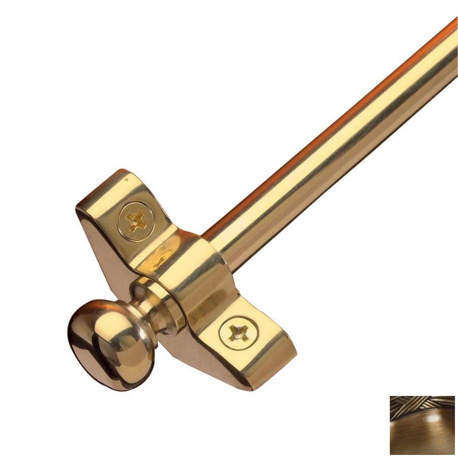 Zoroufy 0.375-in Dia x 28.5-in L Brass Stair Rods