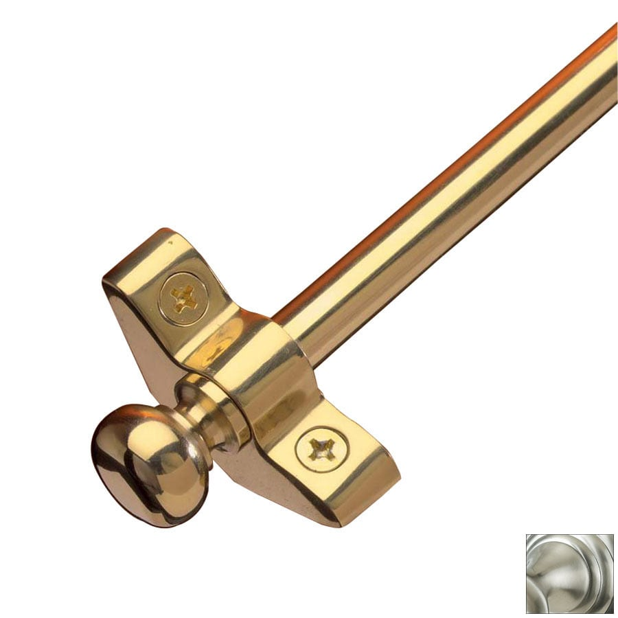 Zoroufy 0.375-in Dia x 36-in L Brass Stair Rods