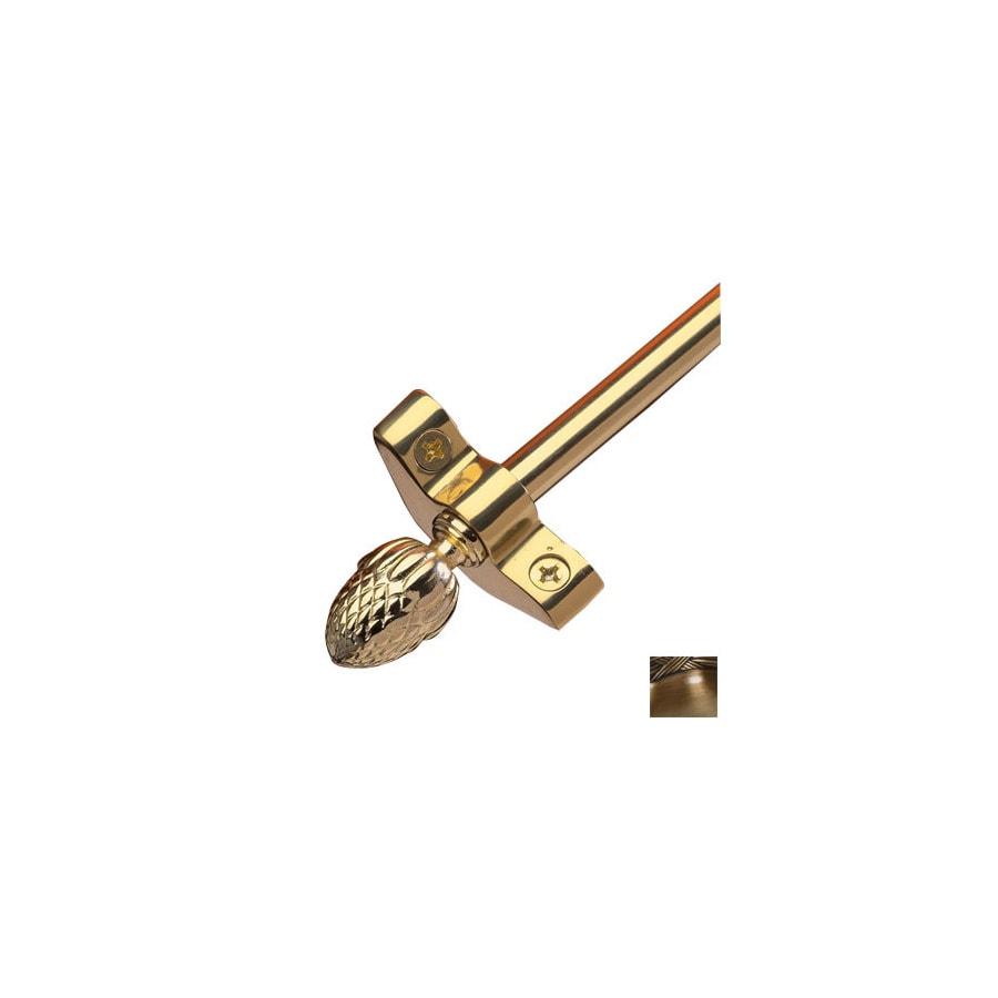 Zoroufy 0.375-in Dia x 28.5-in L Brass Stair Rods