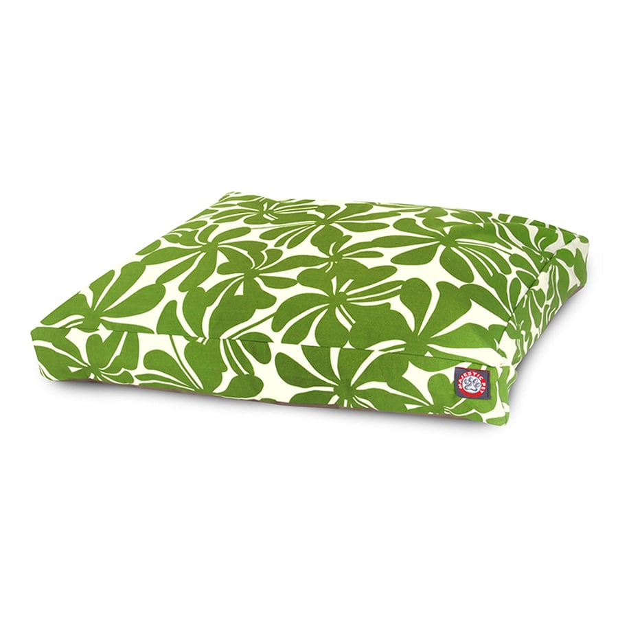 Majestic Pets Sage Polyester Rectangular Dog Bed