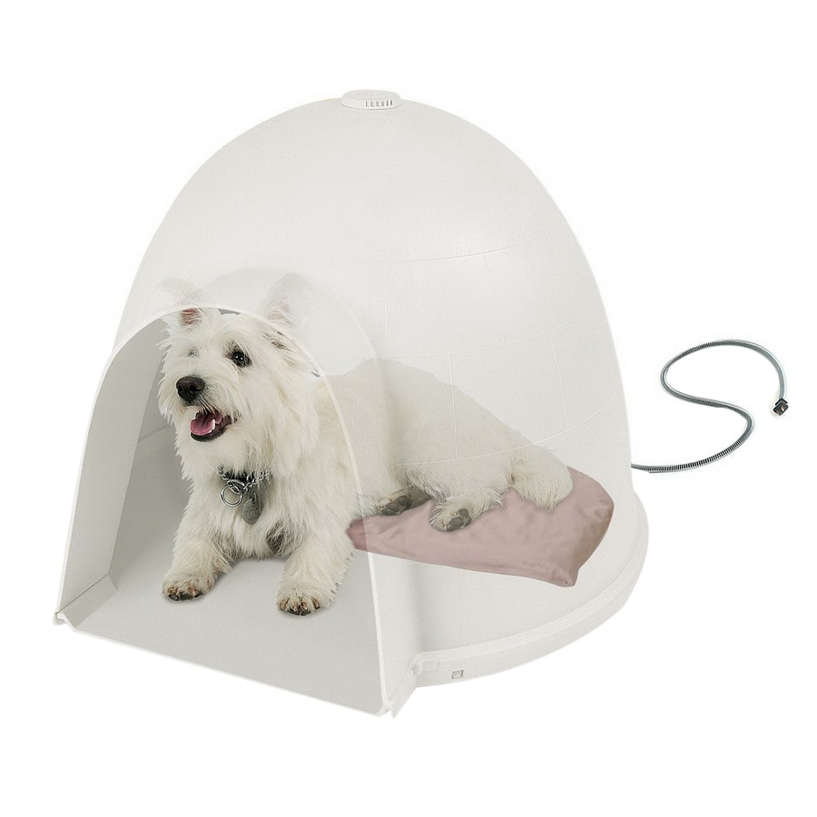 K&H Manufacturing Tan Vinyl with Nylon Coating Dog Bed