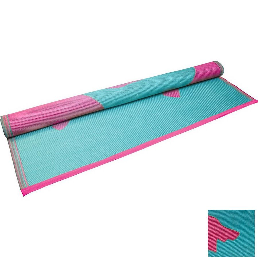 KOKO Company 48-in W x 72-in L Pink Anti-Fatigue Mat
