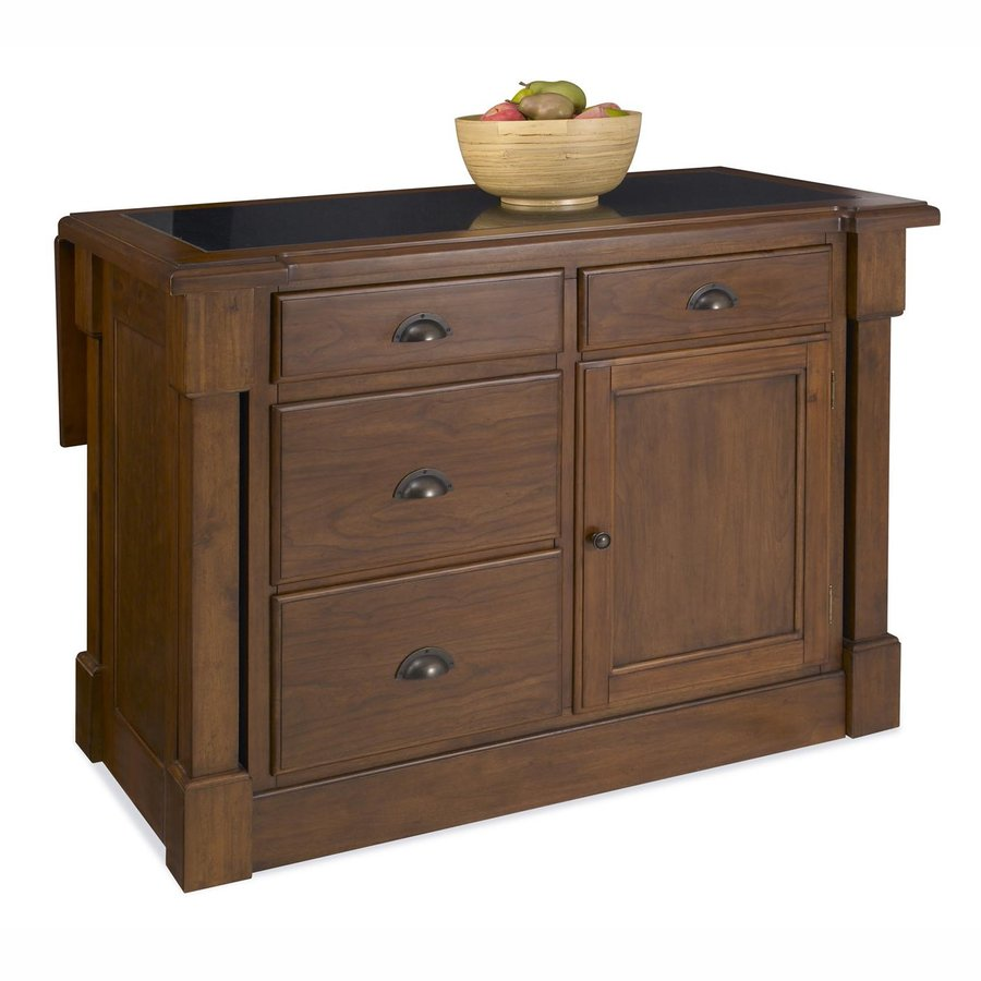 Uncategorized Lowes Kitchen Island shop home styles brown midcentury kitchen island at lowes com island