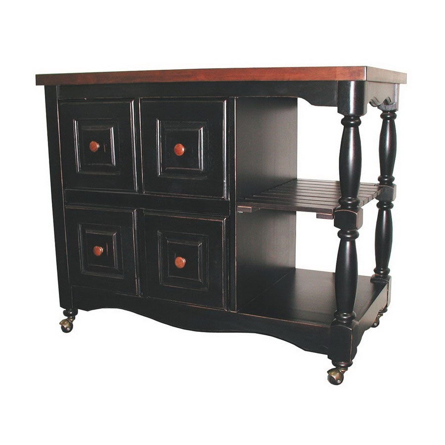 24 Kitchen Island: Shop Sunset Trading 24-in L X 44-in W X 36-in H Antique