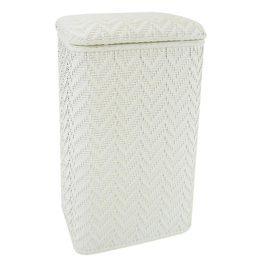 Redmon Mixed Materials Clothes Hamper