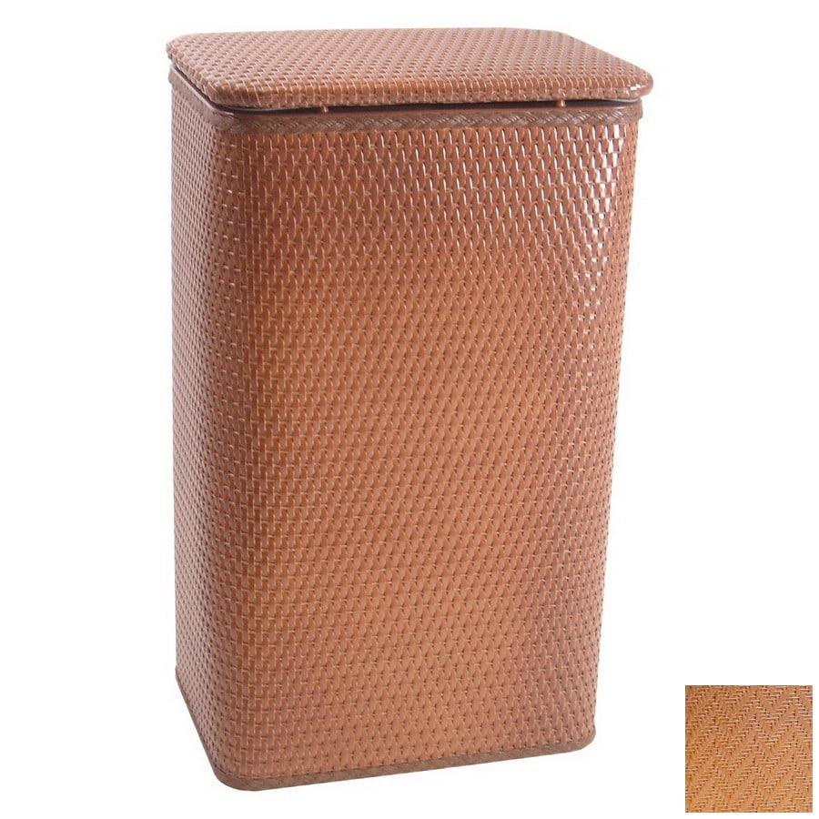 Redmon Mixed Materials Basket or Clothes Hamper