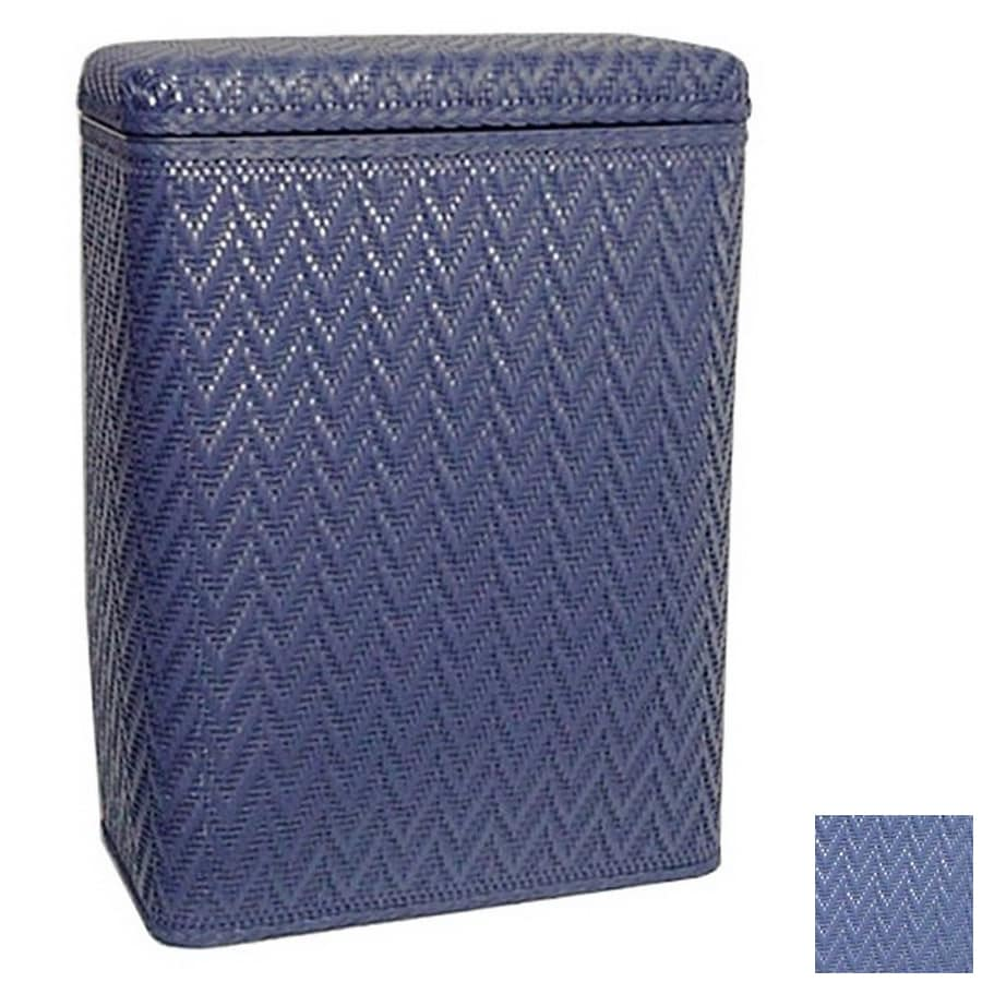 Wicker Bathroom Furniture Shop Redmon Mixed Materials Clothes Hamper at Lowes.com