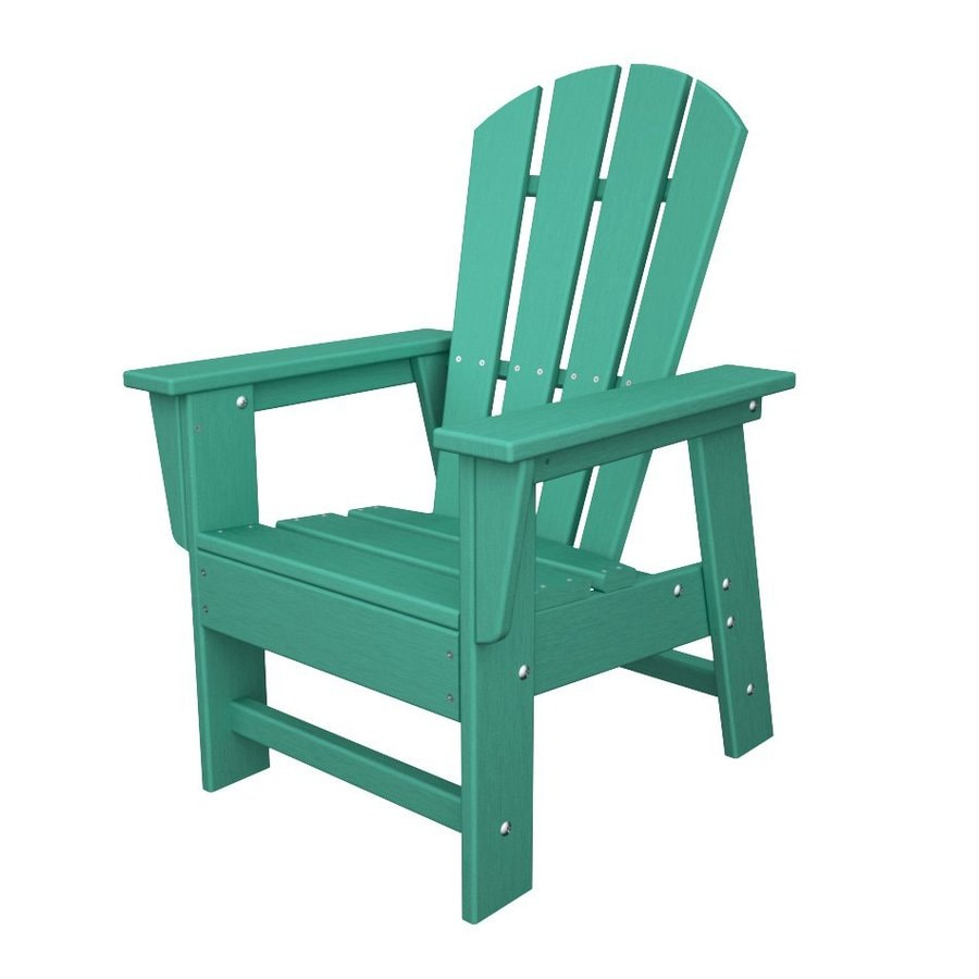 Shop Polywood Kids Aruba Plastic Adirondack Chair At Lowes Com