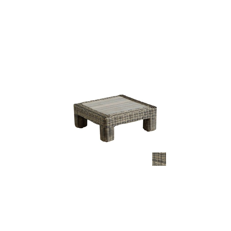 Rst Outdoor Resort Wood Square Patio Coffee Table