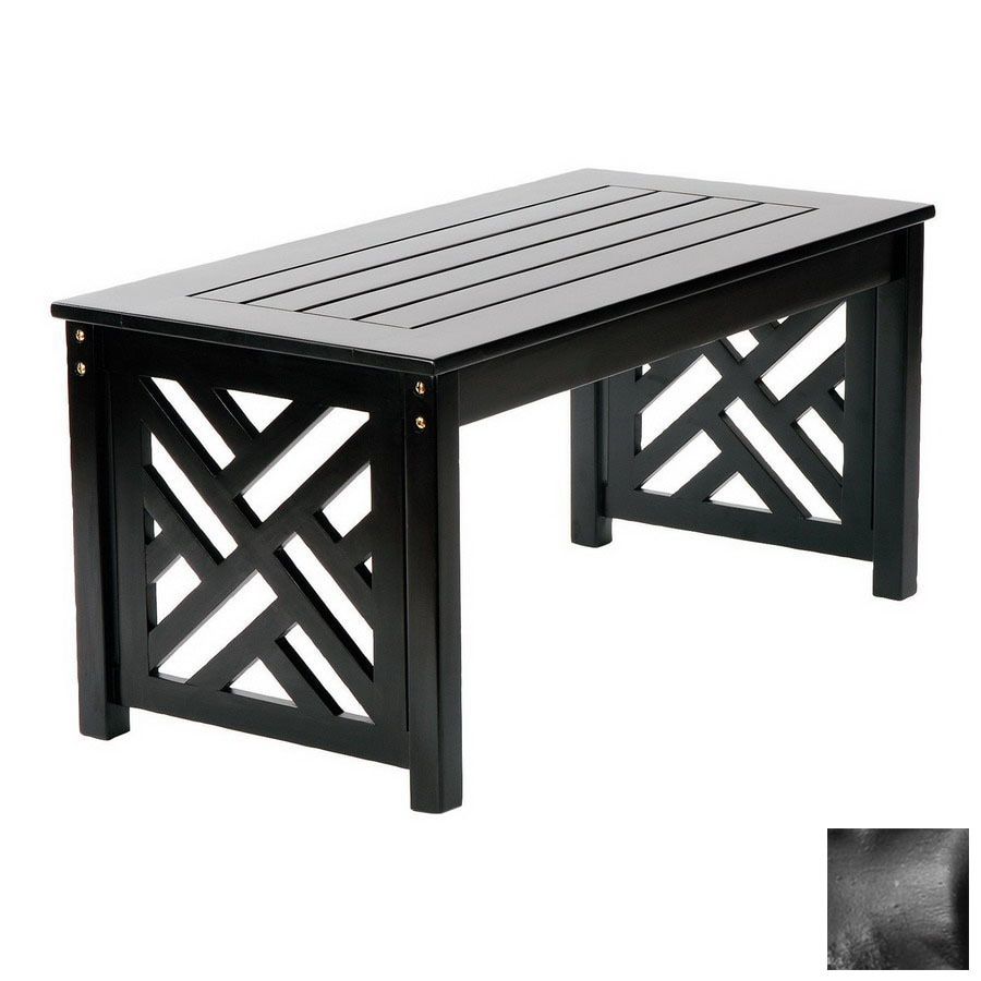 Fretwork Coffee Table.Write A Review About Achla Designs Fretwork Wood Rectangle Patio