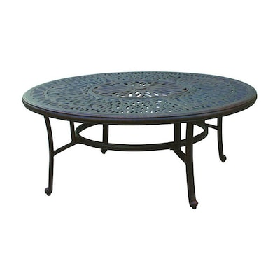 Aluminum Round Patio Coffee Table
