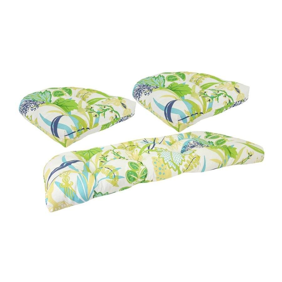 Jordan Manufacturing Fishbowl Aquamarine Floral Cushion For Universal