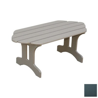 Astonishing Eagle One Adirondack Plastic Oval Patio Coffee Table At Gmtry Best Dining Table And Chair Ideas Images Gmtryco