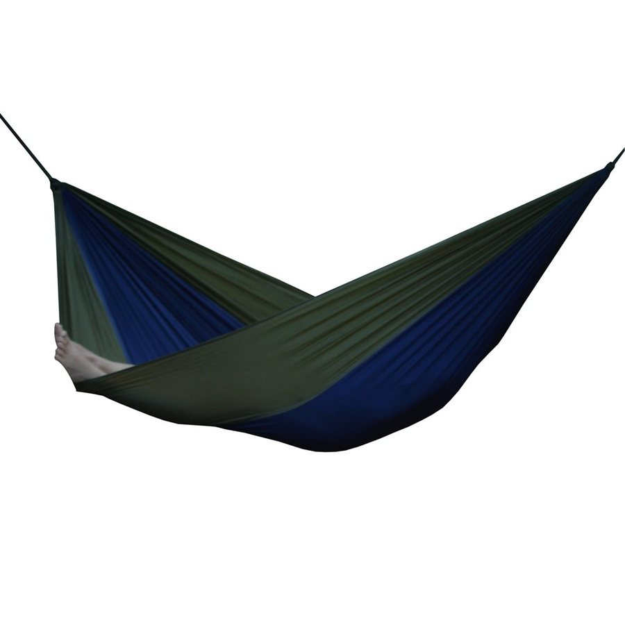Vivere Parachute Navy/Olive Fabric Hammock