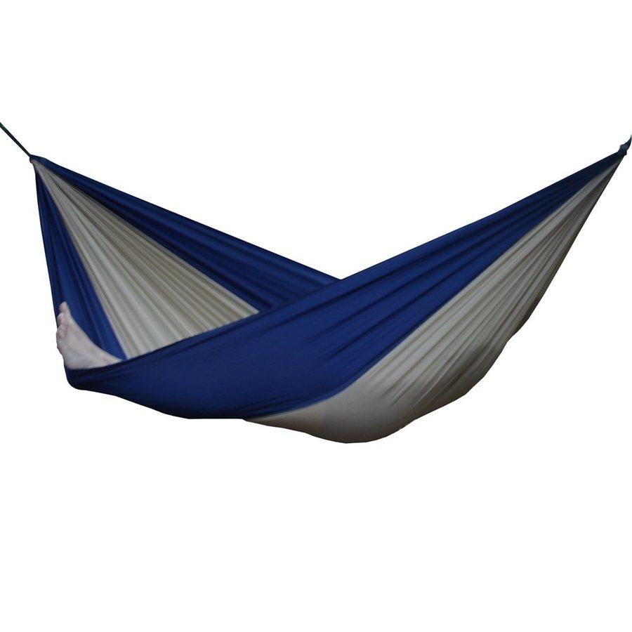 Vivere Parachute Beige/Navy Fabric Hammock