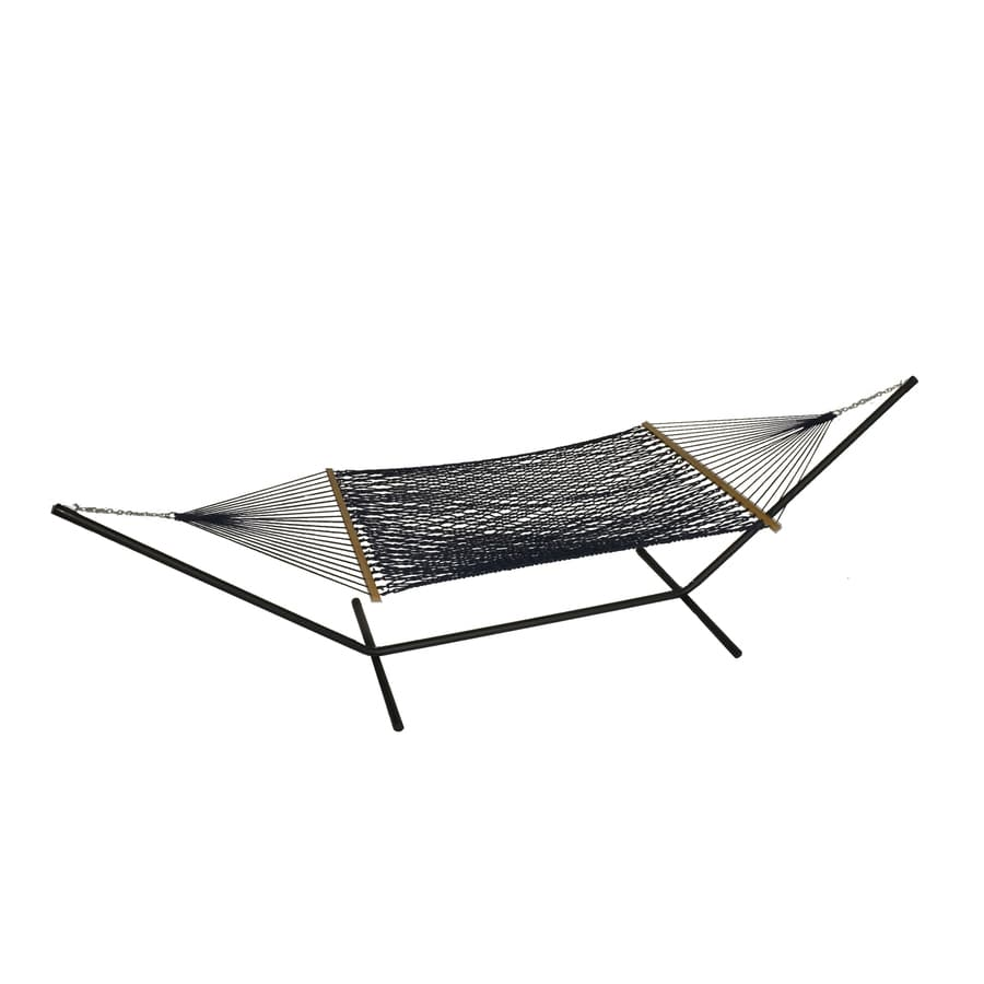 Phat Tommy Outdoor Oasis Navy Rope Hammock