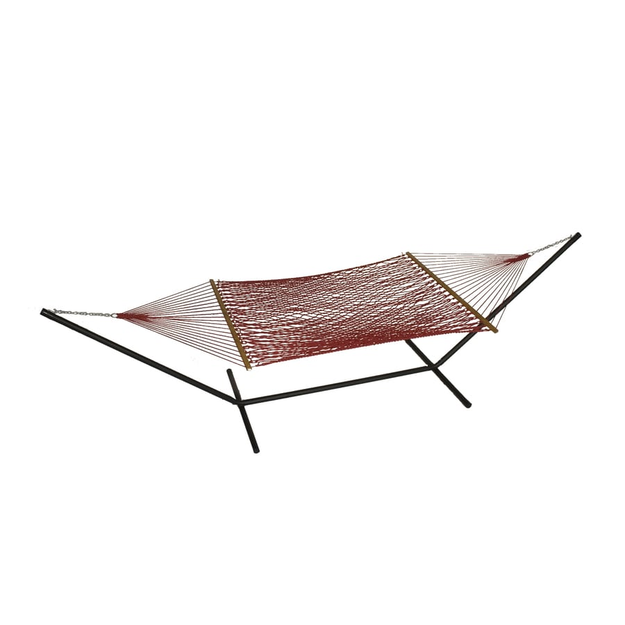 Phat Tommy Outdoor Oasis Cranberry Rope Hammock