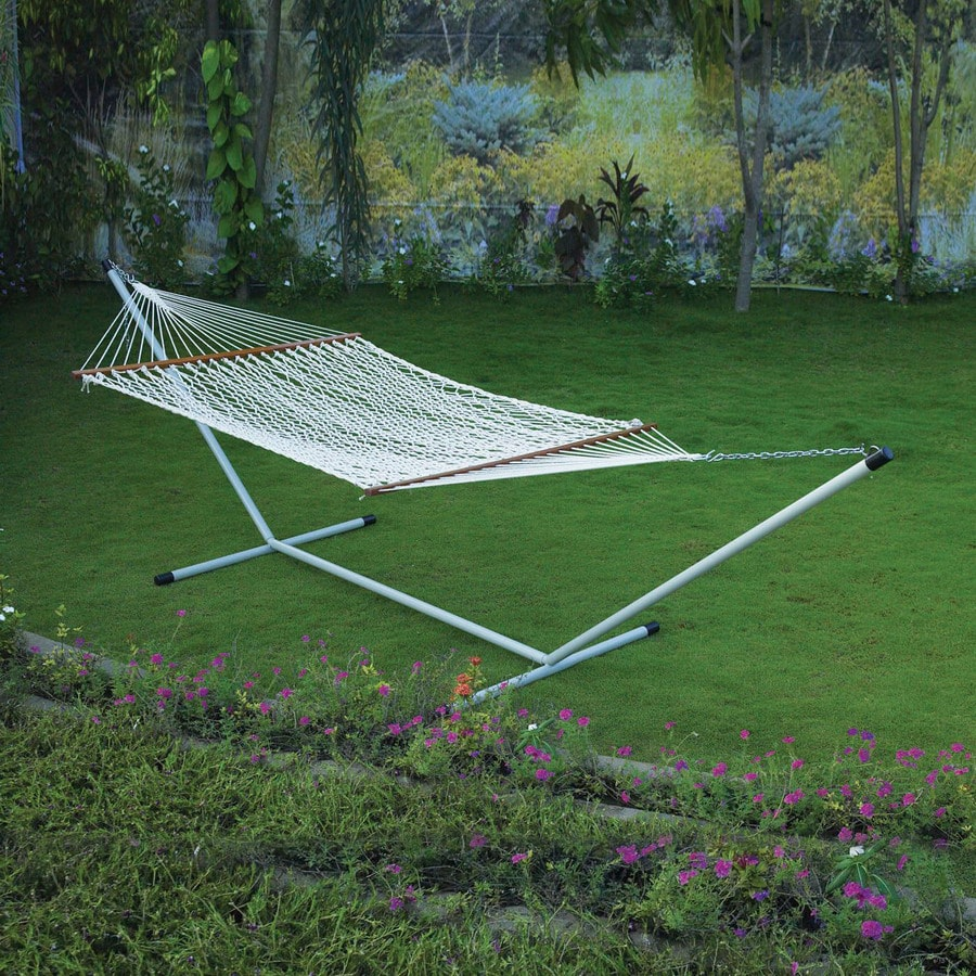 Twotree 6-ft 2-in Hammock with Stand