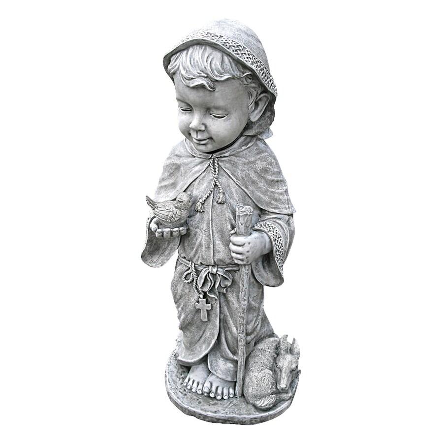 Design Toscano Baby Saint Francis 24-in Religion Garden Statue