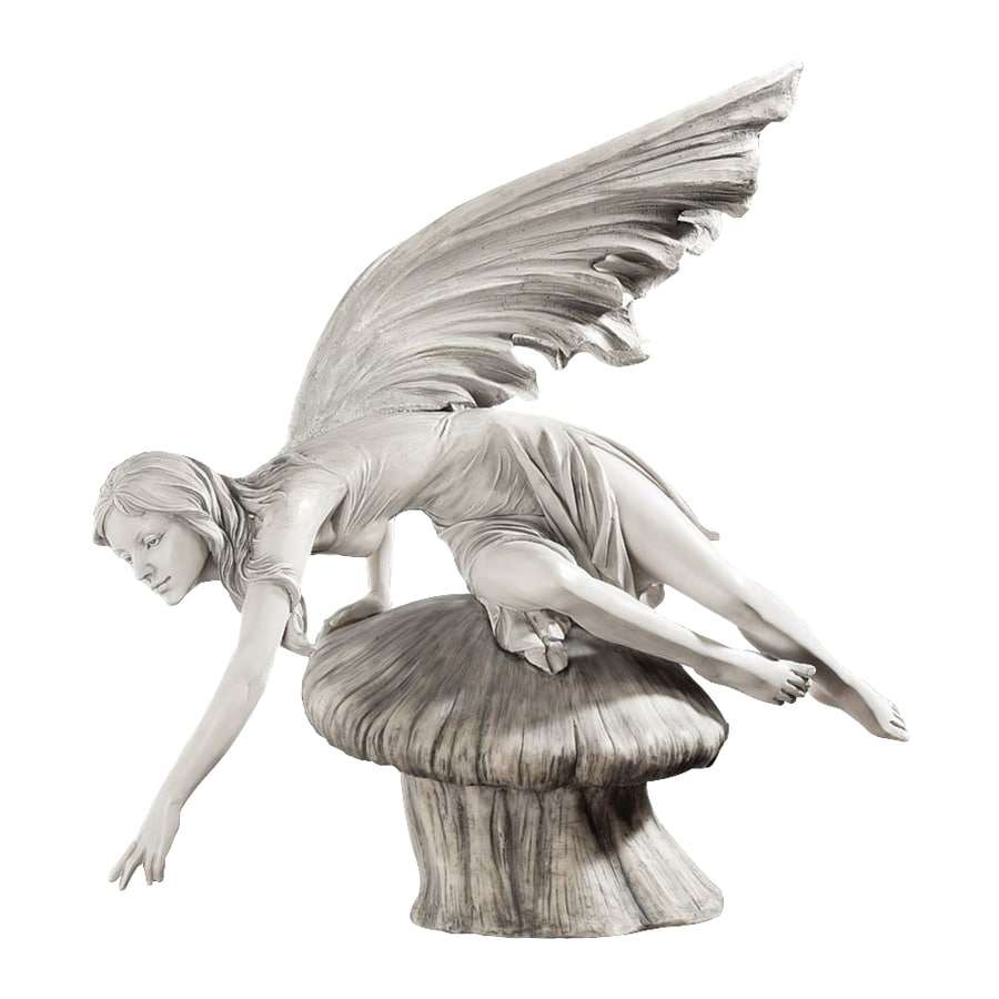 Design Toscano The Daydream Fairy 18-in Garden Statue