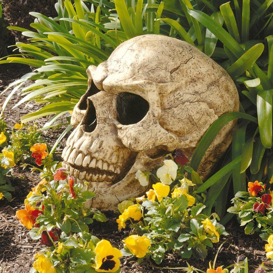 Design Toscano Sinister Simon Skull Figurine