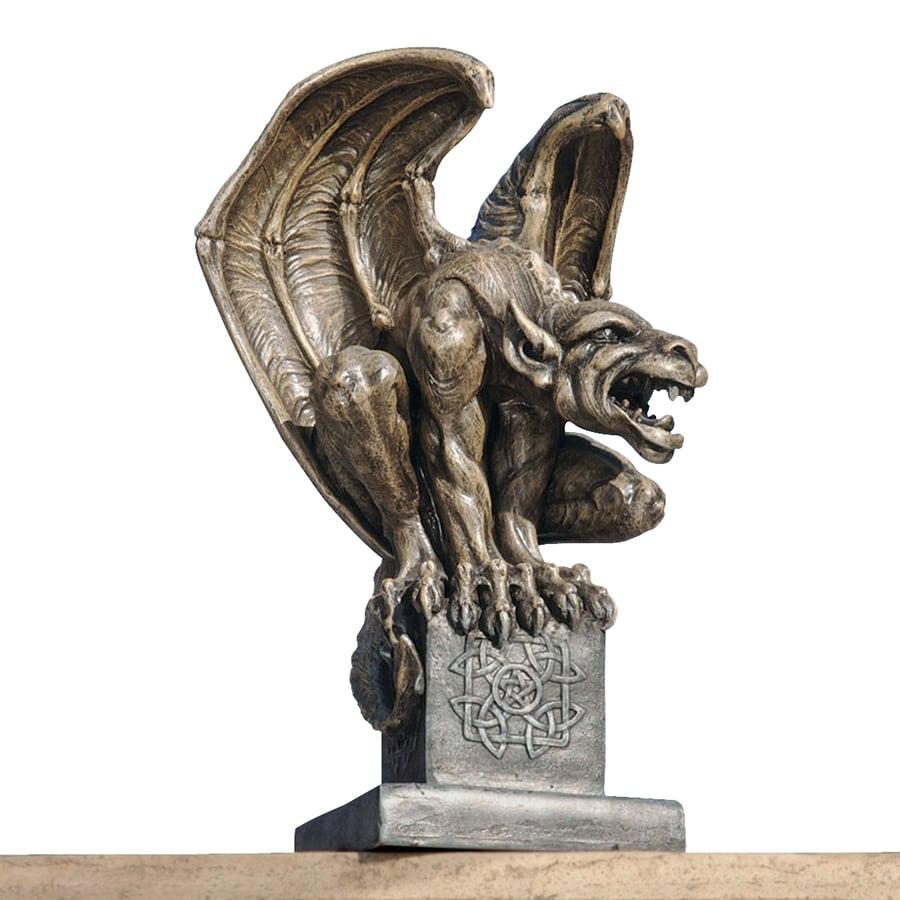 Design Toscano Abbadon Gargoyle Statue 12 In Garden Statue