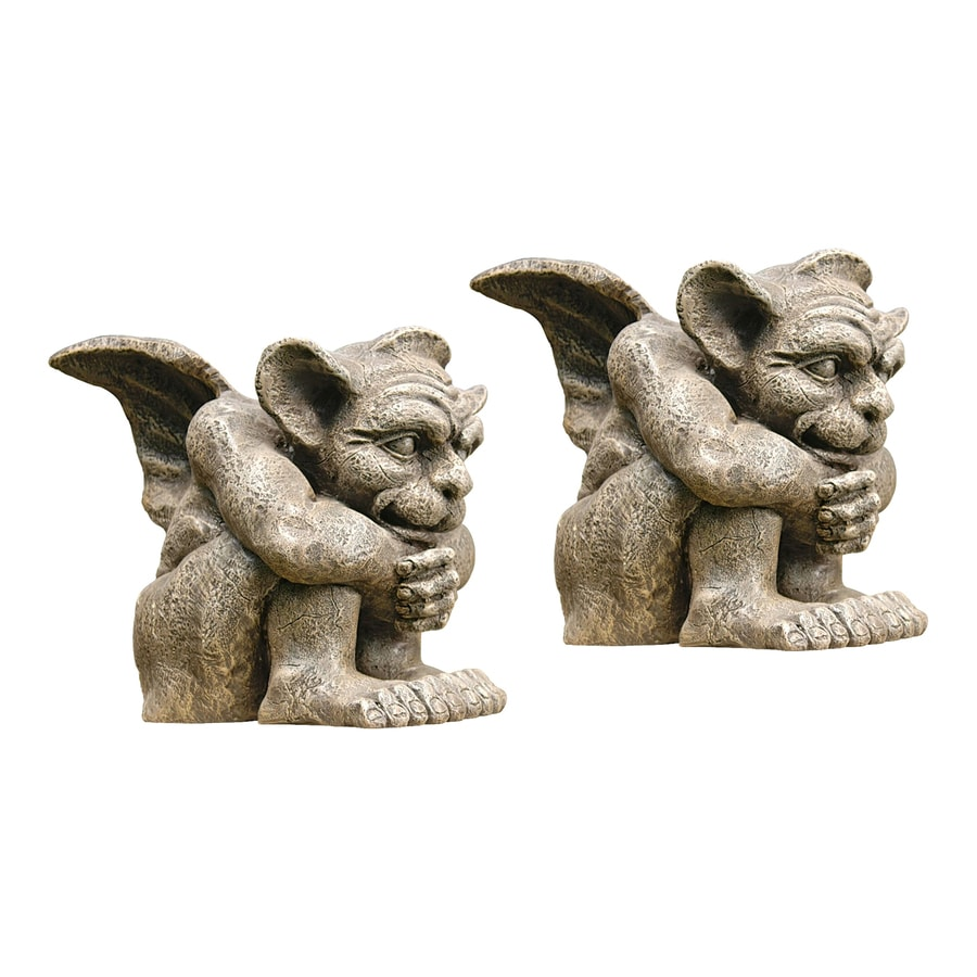 Design Toscano Emmett The Gargoyle 10.5-in Garden Statue