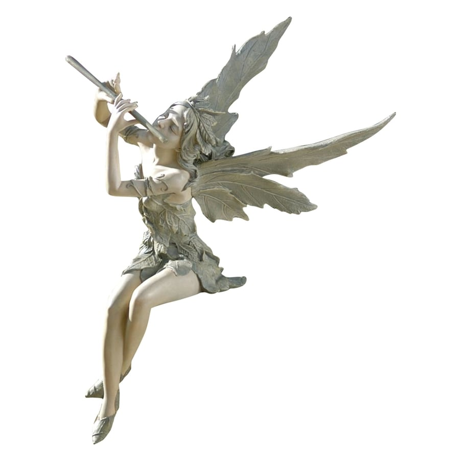 Design Toscano Fairy Of The West Wind 19-in Garden Statue