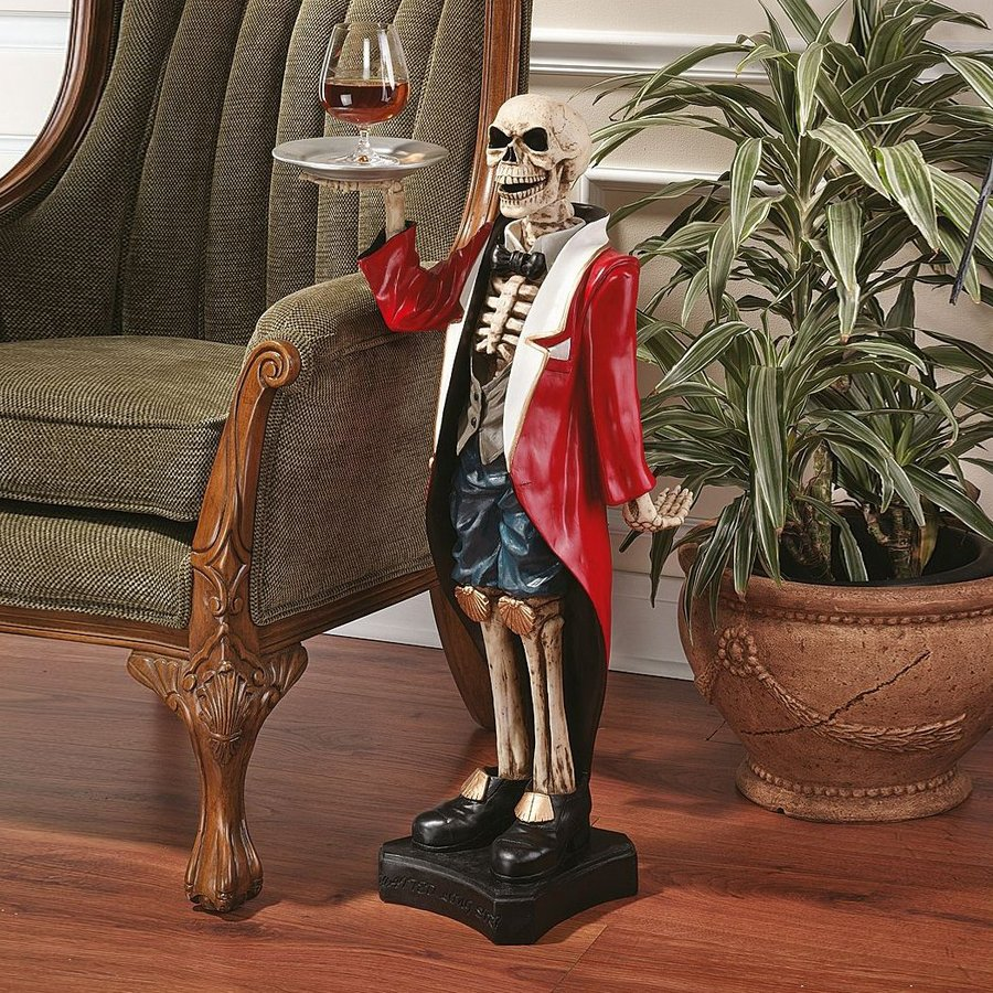 Shop Design Toscano Bones The English Butler Skeleton