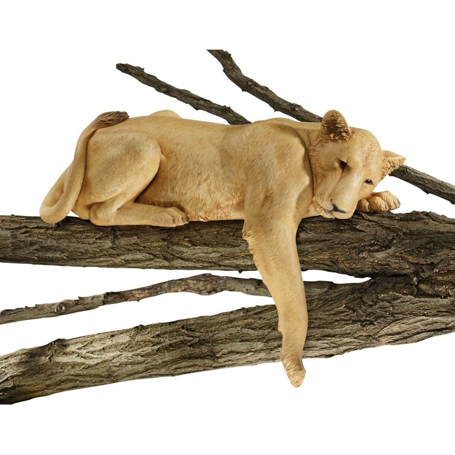 Design Toscano Lioness Of Namibia 19-in Animal Garden Statue