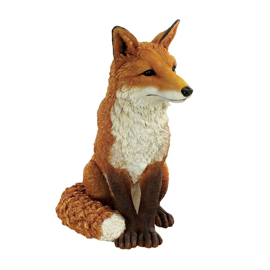 Shop Design Toscano Simon The Fox 18 In Animal Garden