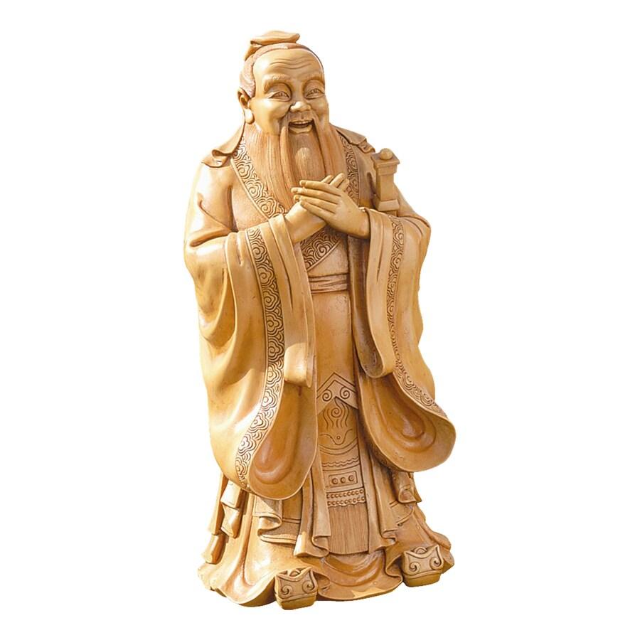 Design Toscano Confucius 24-in Religion Garden Statue