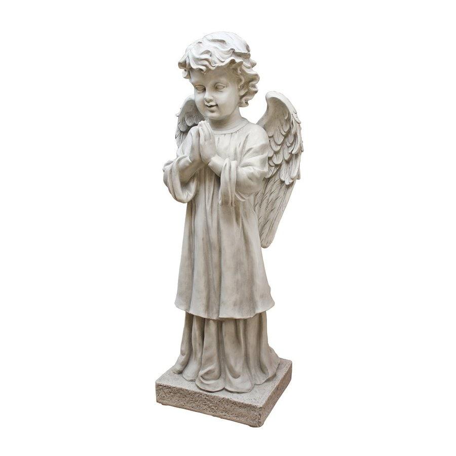 Design Toscano The Angel's Message 28-in Angels and Cherubs Garden Statue
