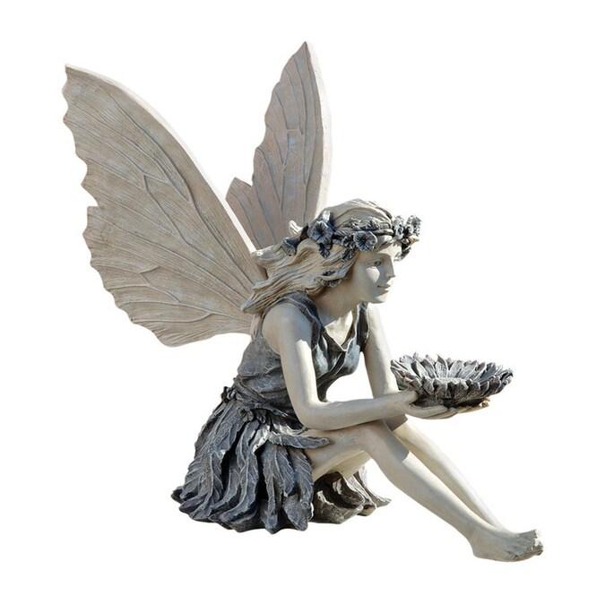 Sunflower Fairy Garden Statue, Garden Statue Fairy