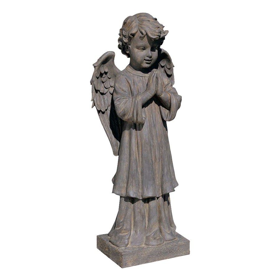 Design Toscano The Angel's Message 28-in Angels and Cherubs Garden Statue